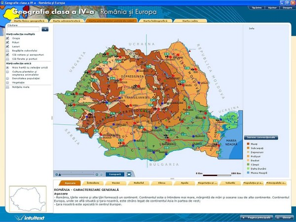 Geografie clasa a IV-a - Romania si Europa 5