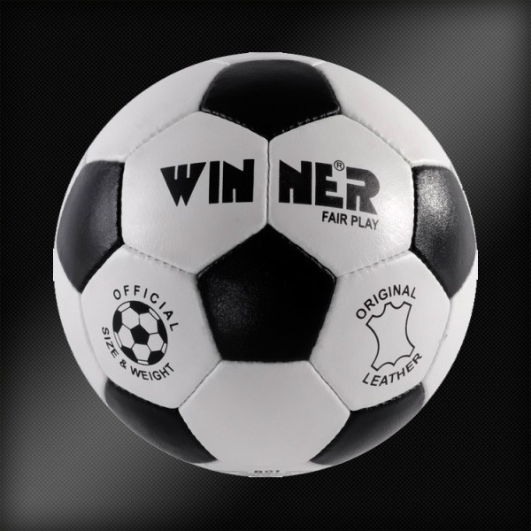 Minge fotbal din piele naturala FAIR PLAY 3