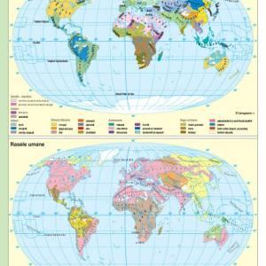 Atlas geografic scolar clasele 5-8 9