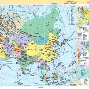 Atlas geografic scolar clasele 9-12 10