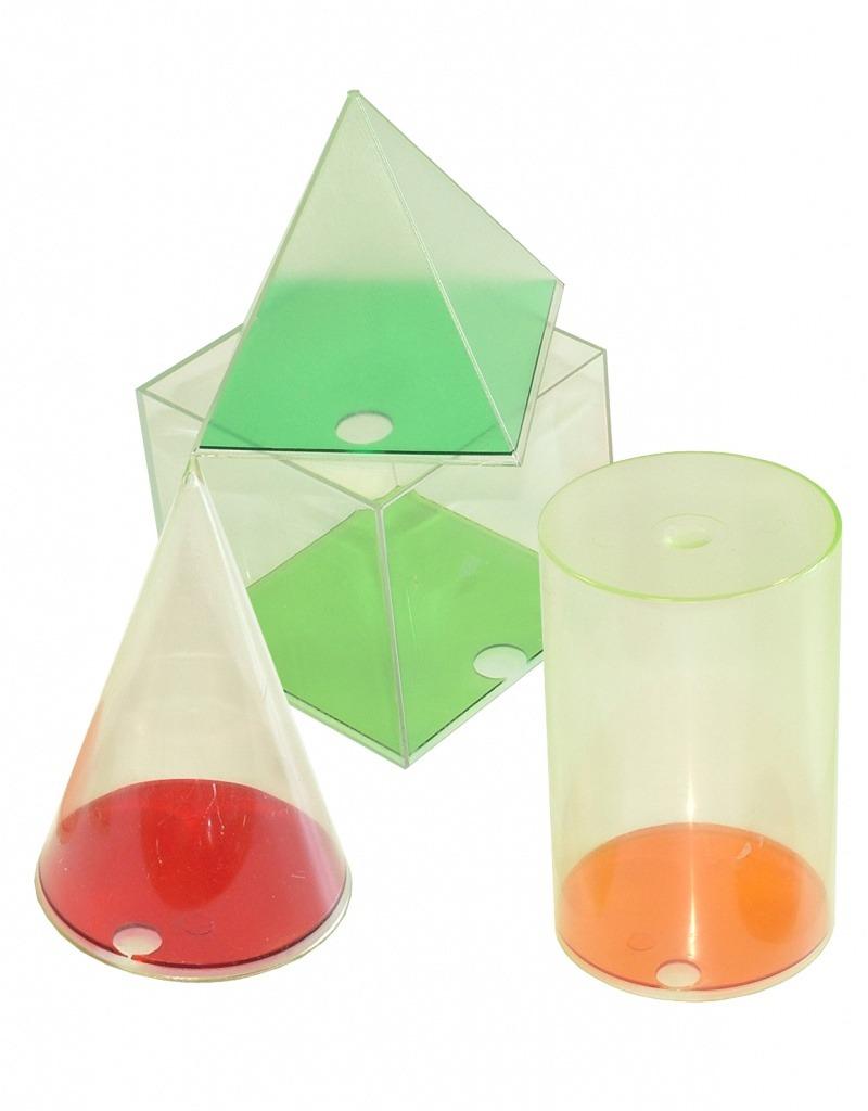 Set forme geometrice din plastic
