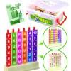 Puzzle 3D litere si cifre