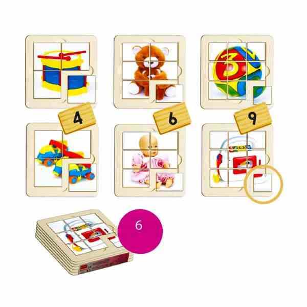 Jucarii - puzzle 3