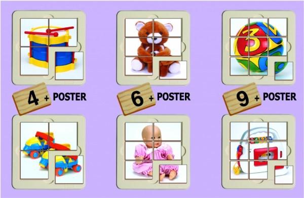 Jucarii - puzzle 4