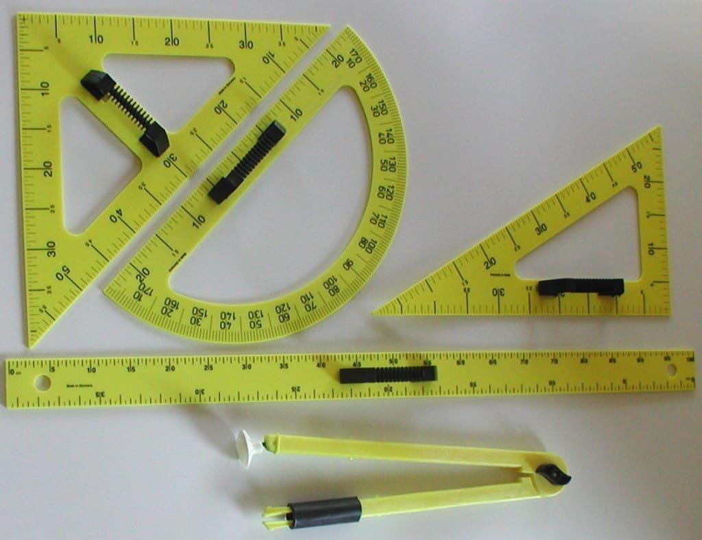 Set instrumente pentru tabla LINEX