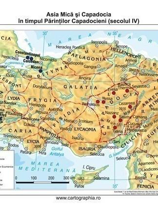 Asia Mica si Capadocia in timpul Parintilor Capadocieni (secolul IV)
