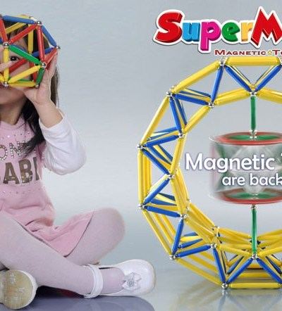 SuperMaxi magnetic 200 piese