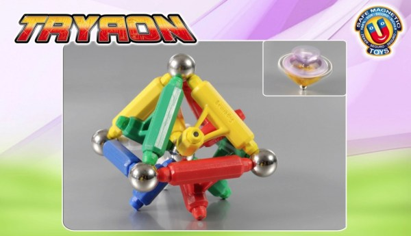 Tryron magnetic 175 piese 12