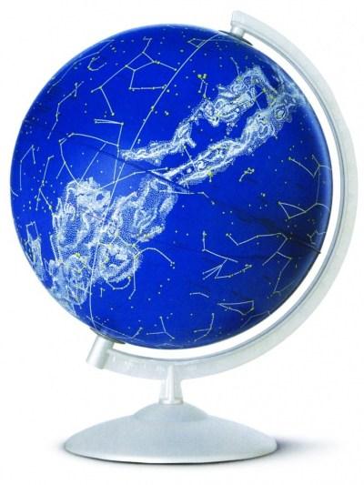 Glob geografic pamantesc iluminat Stelare Perla