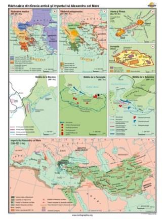 Razboaiele din Grecia antica si imperiul lui Alexandru cel Mare