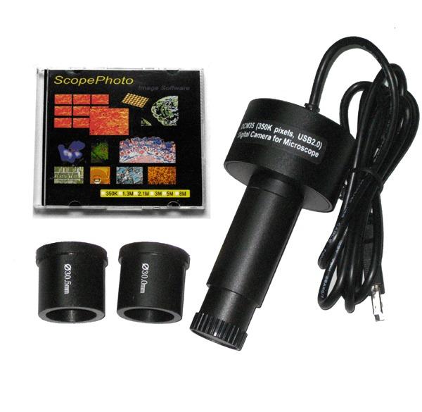 Camera video pentru microscop 1,3 MP 4