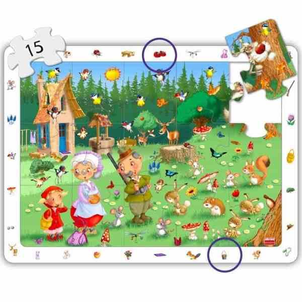 Puzzle 4 in 1 - Povesti Clasice 6