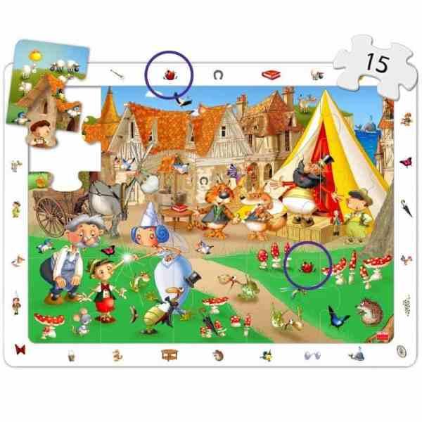 Puzzle 4 in 1 - Povesti Clasice 7