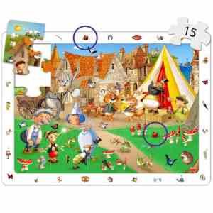 Puzzle 4 in 1 - Povesti Clasice 13