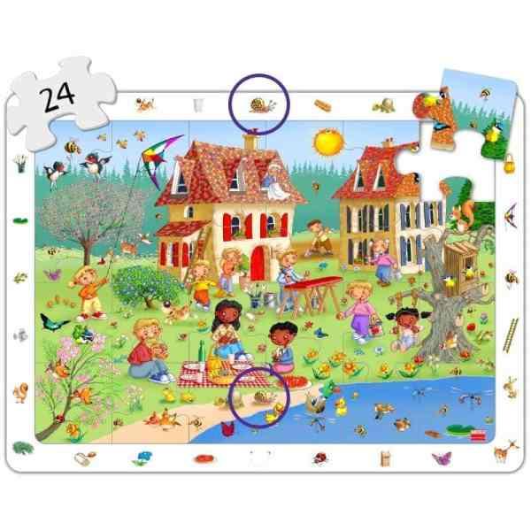 Set puzzle observare - anotimpuri 7