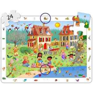 Set puzzle observare - anotimpuri 12