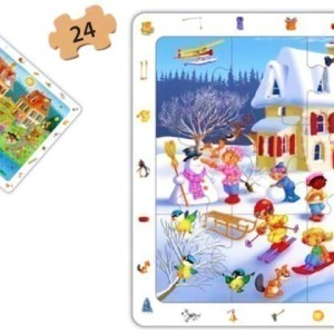 Set puzzle observare - anotimpuri 13