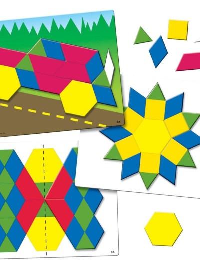 Joc Tangram - Modele si sabloane