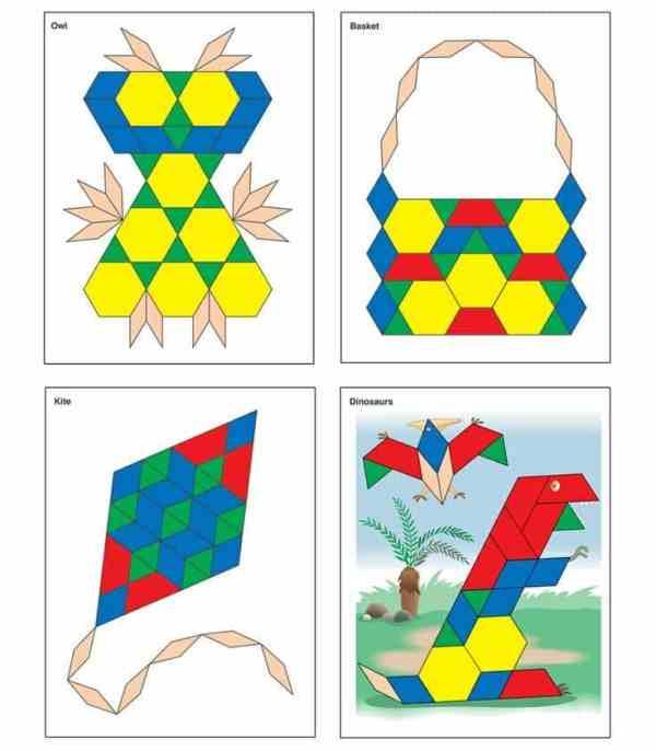 Joc Tangram - Modele si sabloane 7