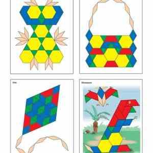 Joc Tangram - Modele si sabloane 11