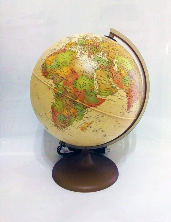 Glob geografic pamantesc iluminat Discovery 5