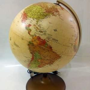 Glob geografic pamantesc iluminat Discovery 12