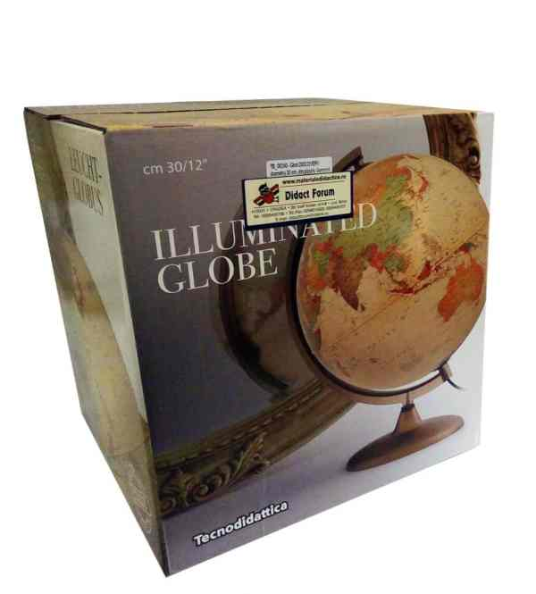Glob geografic pamantesc iluminat Discovery 8