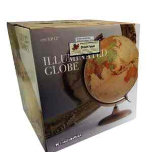 Glob geografic pamantesc iluminat Discovery 14