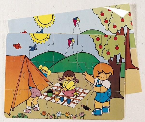 Puzzle - Zaro la Camping 3