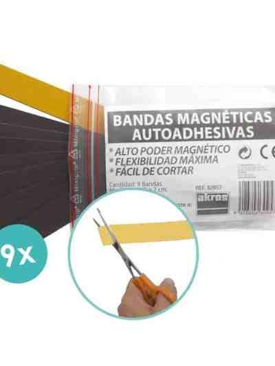 Benzi magnetice autoadezive