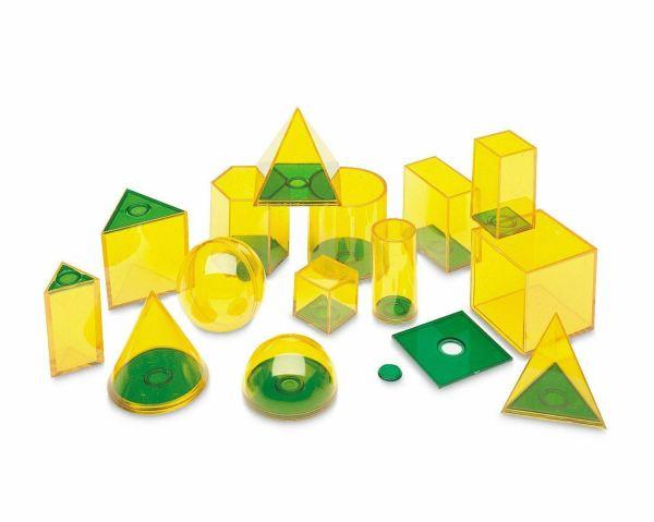 Forme geometrice GeoSolids - 14 piese 3