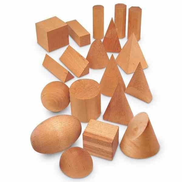 Forme geometrice din lemn (set 19) 3