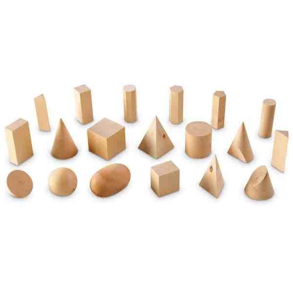 Forme geometrice din lemn (set 19) 4
