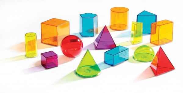 Forme geometrice colorate 4