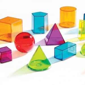 Forme geometrice colorate 11