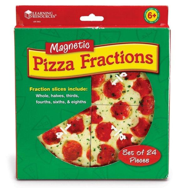Pizza fractiilor cu magneti 7