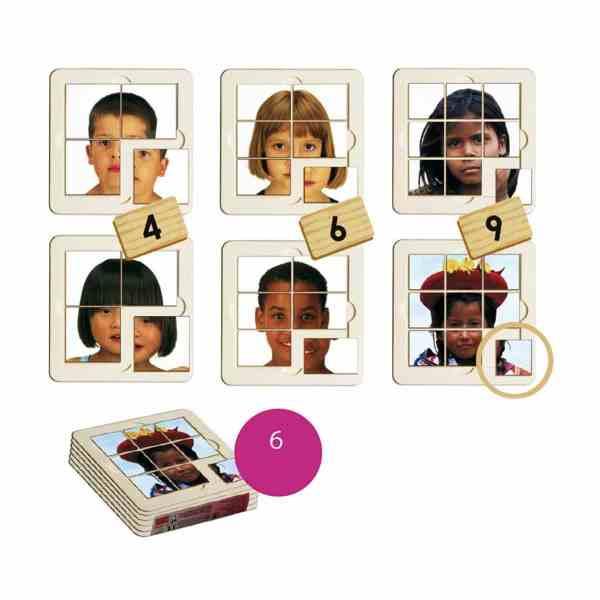 Copii din lume - puzzle 3