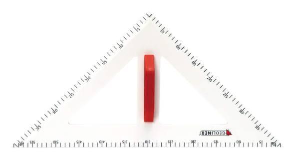 Trusa de instrumente geometrice Magnetice pentru tabla 8