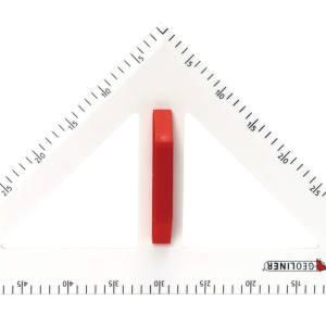 Trusa de instrumente geometrice Magnetice pentru tabla 15