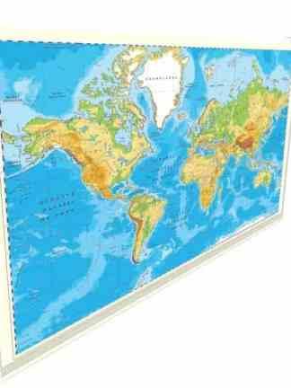 Sistem de rulare manual pentru hartile gigant