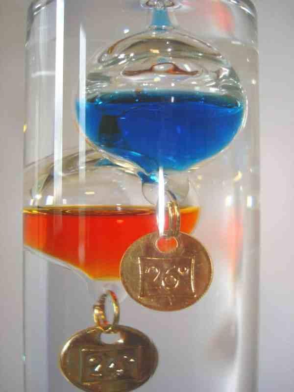 Termometru analogic Galileo Galilei 6