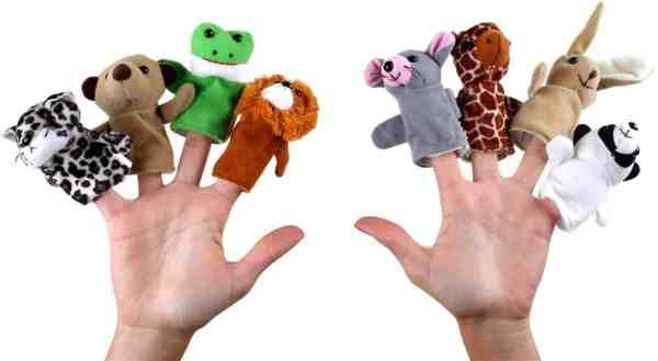 Marionete pentru Degete Animale 2