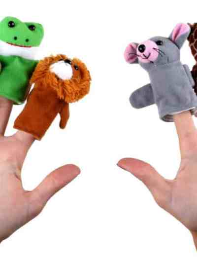 Marionete pentru Degete Animale