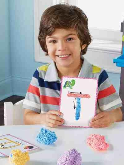 Spuma de modelat - Set Alfabetul