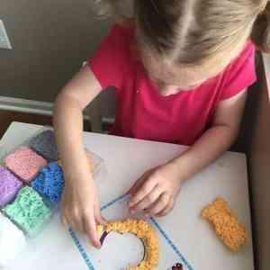 Spuma de modelat - Set Alfabetul 24