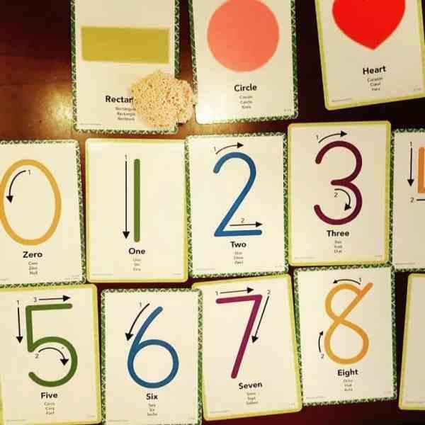 Spuma de modelat - Set Cifrele 12