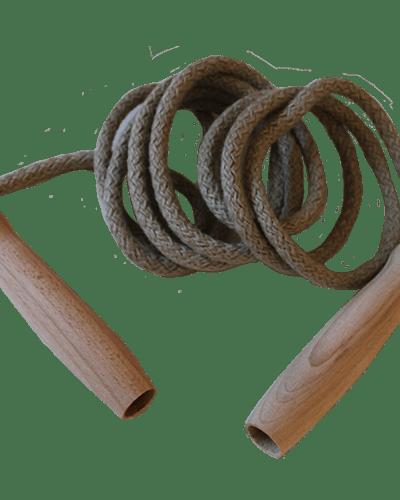 Coarda sarit 2.50m - maner din lemn