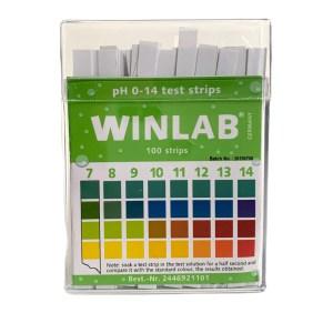 Benzi pentru testarea nivelului pH 8