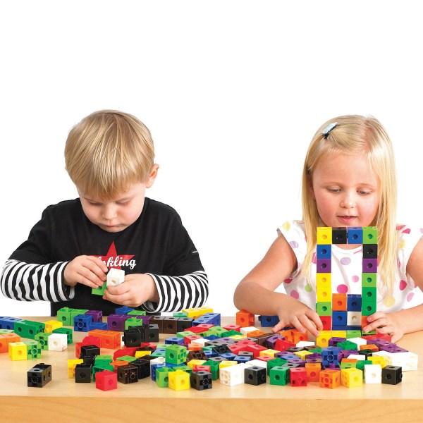 Cuburi colorate asamblabile 1000 buc. 4