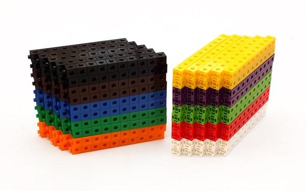 Cuburi colorate asamblabile 1000 buc. 6